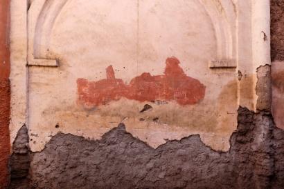 Wall Colors, Medina Marrakech, Marocco 2017