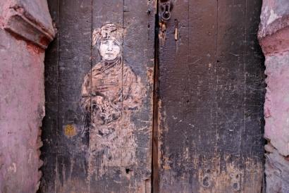 Graffiti, Marrakech Marocco 2017