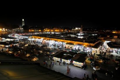 Jamaa el Fna Marrakech, Marocco 2017