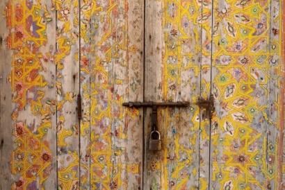 Door Decoration, Rabat Marocco 2017