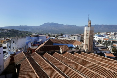 View, Chefchaouen Marocco 2017