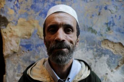 Abdullah, Barrio Portuguese, Tanger Marocco 2017