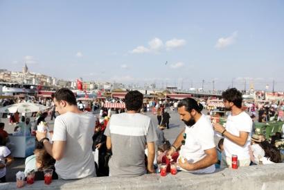 Istanbul Turkey 2017 Asian Side