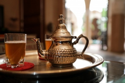 Mint Tea, Marrakech Marocco 2017