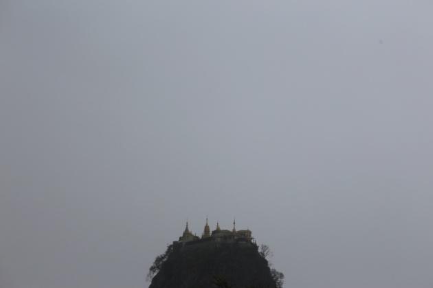 Monte Popa Myanmar (Burma) 2015
