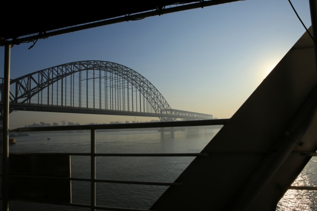 Irrawaddy River/Bridge Mandalay, Myanmar (Burma) 2015