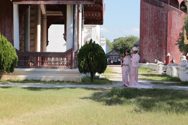 Myanmar (Burma), Mandalay Royal Palace,2015