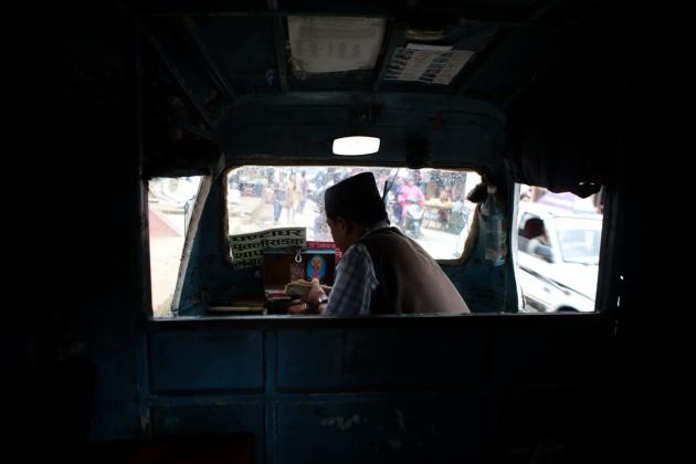 Taxi Patan Nepal 2014