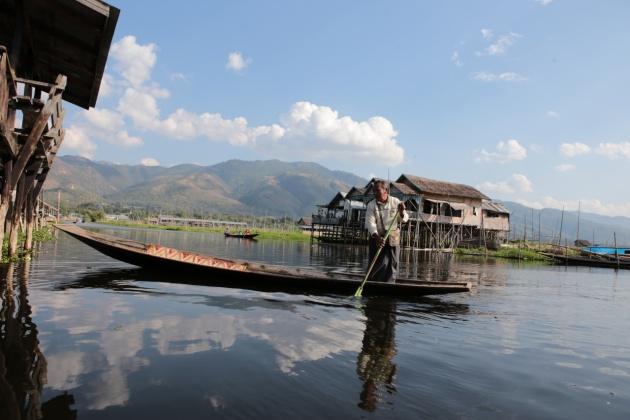 Inle Lake Myanmar (Burma) 2015