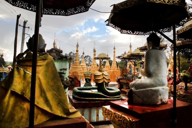 Shwe Oo Min Pagoda, Kalaw Myanmar (Burma) 2015