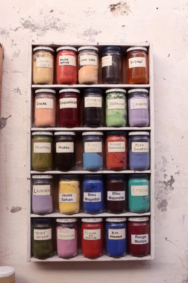 Pigments, Essaouira Marocco 2013