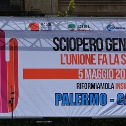 contro Renzi, sciopero 5 maggio 2015