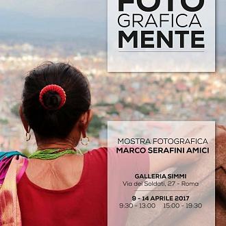Esposizione Galleria Simmi FotoGraficaMente Roma 2017