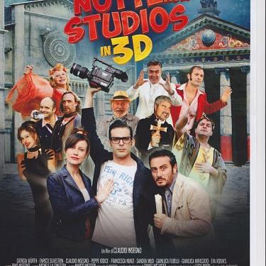 Locandina Film 3D Notte agli Studios