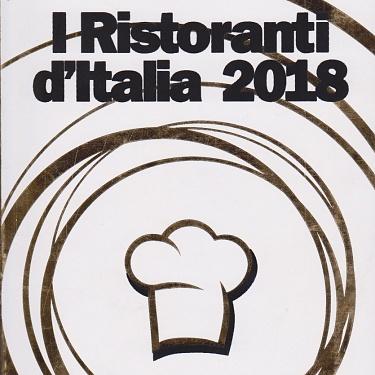 Le Guide de L'ESPRESSO I Ristoranti d'Italia 2018
