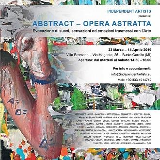 INDIPENDENTARTISTS - ABSTRACT OPERA ASTRATTA