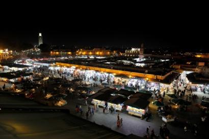 Jamaa el Fna Square, Marrakech Marocco 2017