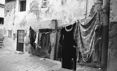 "Barrio Portoghese, Tangeri Marocco 2017 "" ILFORD FP4 PLUS125 B/W """