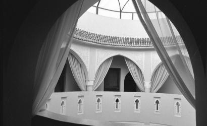 """Riad le claire Fontaine Marrakech Marocco 2017"""" ILFORD FP4 PLUS125 B/W """""""