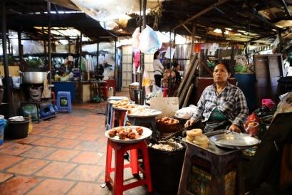 Russian market, Tuol Tom Poung Market Phnom Penh Cambodia 2018