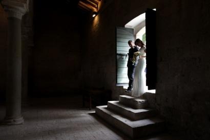 DANIELE e CATERINA Abbazia di Sant'Andrea in Flumine Ponzano Romano