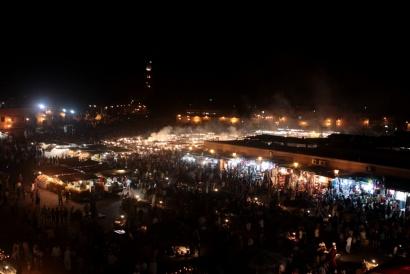 Amaa el Fna Square, Marrakech Marocco 2013