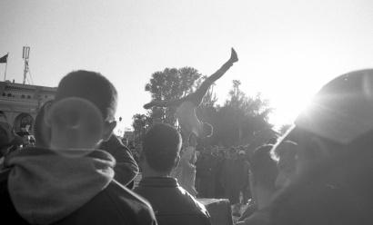 """Jamaa el Fna, Marrakech Marocco 2017 """"ILFORD FP4 PLUS B/W """""""