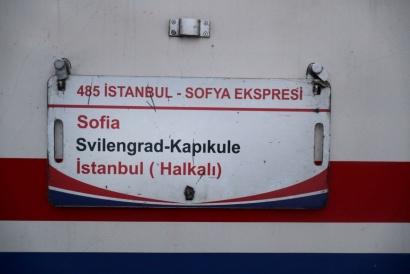 Sofia - Istanbul 2017 Oriente Express