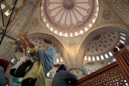 Istanbul Turkey  2017, Blue Mosque