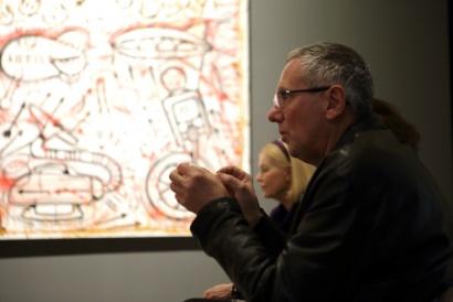 """""""Pablo Echaurren. Contropittura"""", 20 novembre 2015 / 3 aprile 2016, Galleria Nazionale D'Arte Moderna, Roma"""