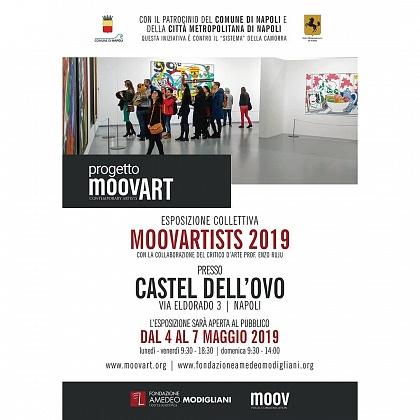 Esposizione collettiva MOOVARTISTS