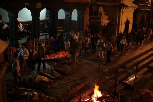 Bagmati River Cerimony, kathmandu, Nepal 2014