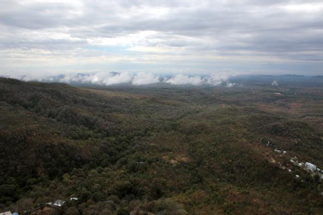 View, Popa Mountain 2015