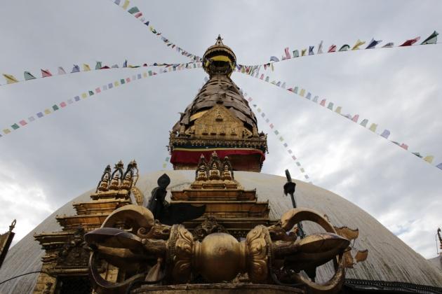 Kathmandu  Monkey Temple Nepal 2014