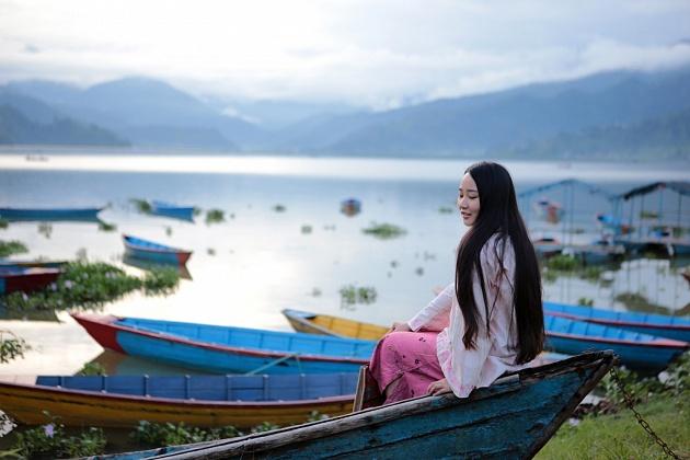 Phewa Lake,Pokhara Nepal 2014