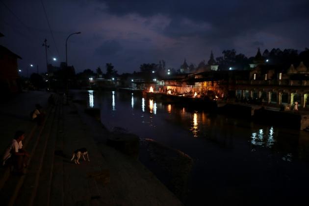 Bagmati River kathmandu, Nepal 2014