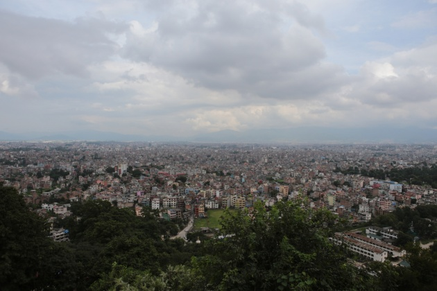Kathmandu Valley from Monkey Temple Nepal 2014