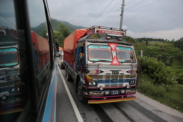Road to Terai Region, Nepal 2014