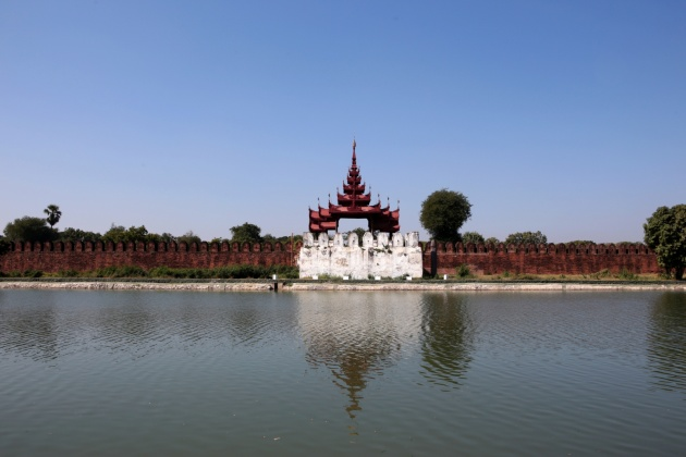Myanmar, Mandalay Royal Palace 2015