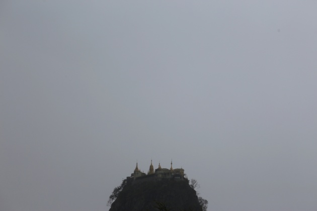 Popa Mountain, Bagan 2015