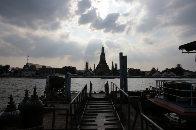 Chao Phraya River bangkok Thailandia 2015