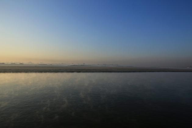Irrawaddy River, Mandalay Myanmar 2015