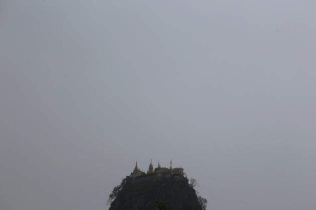 Popa Mountain, Bagan 2015